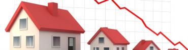 Baisse crédit immobilier