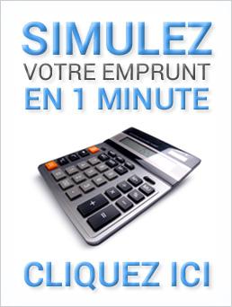 Simulez votre emprunt en 1 minute
